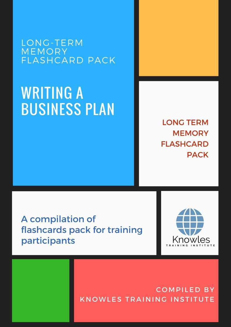 business plan course outline