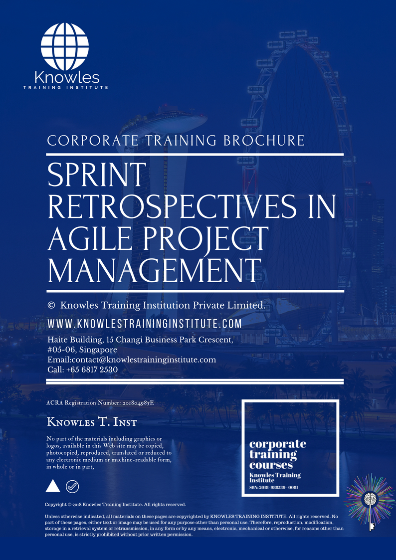 Sprint Retrospectives In Agile Project Management Training Course In