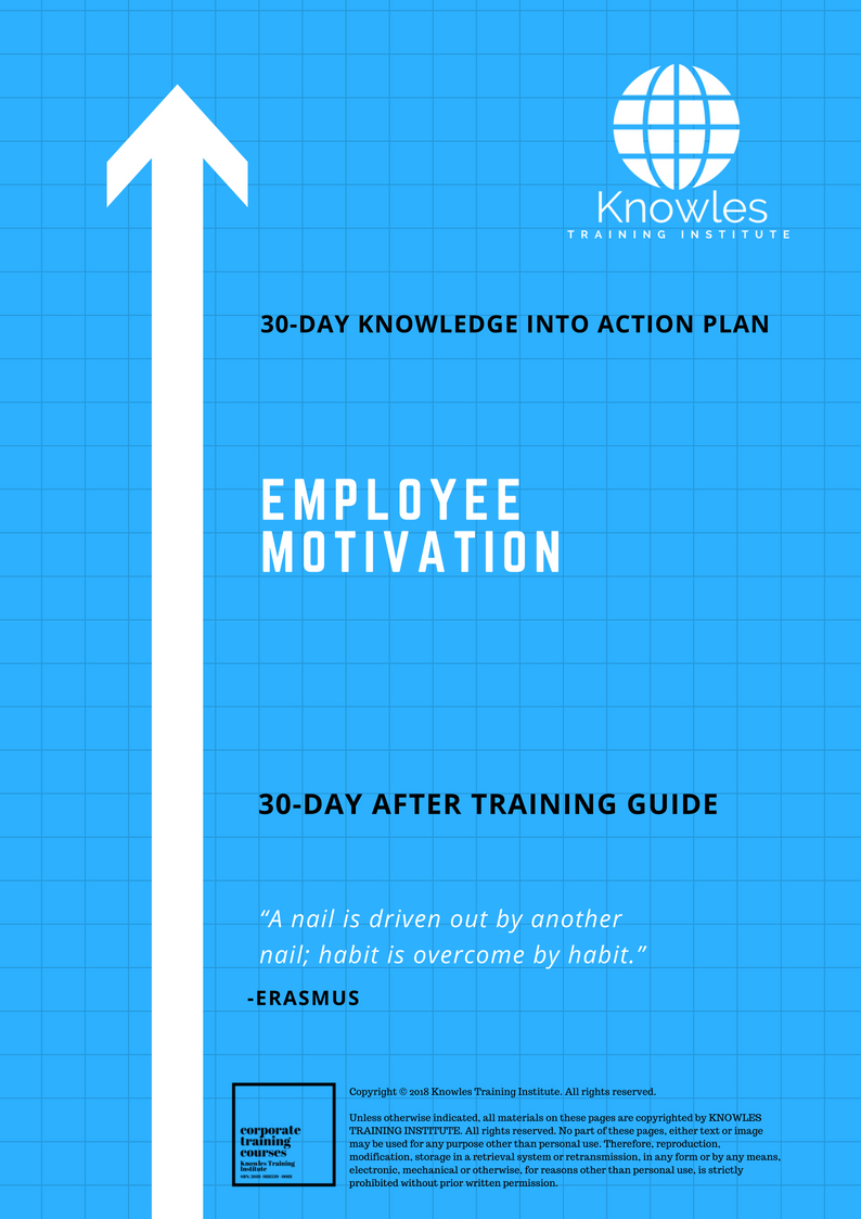 action plan to motivate employees