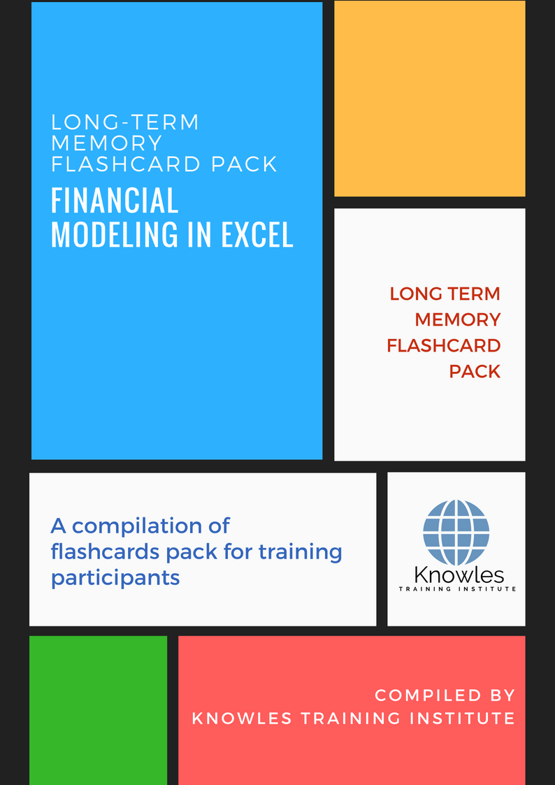 Financial Modeling In Excel Training Course In Singapore