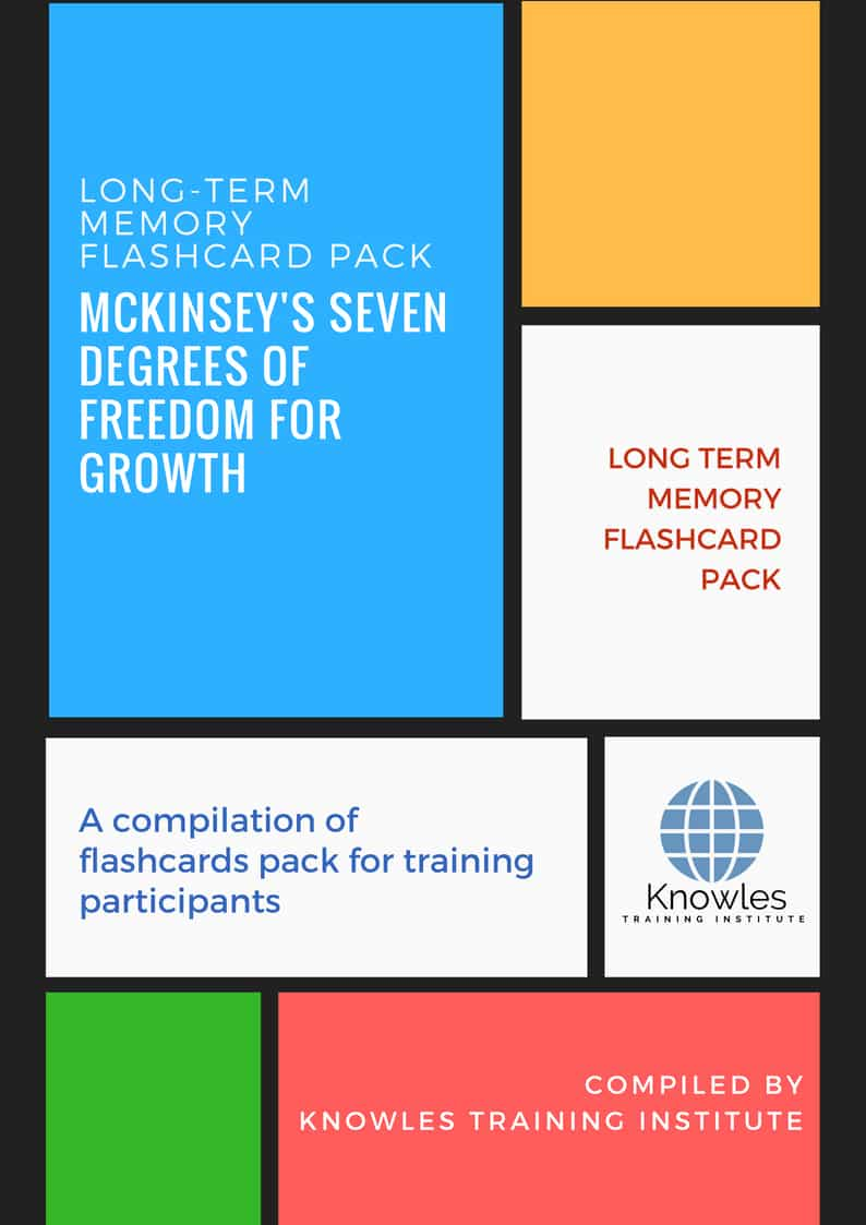 Mckinsey's Seven Degrees Of Freedom For Growth Training
