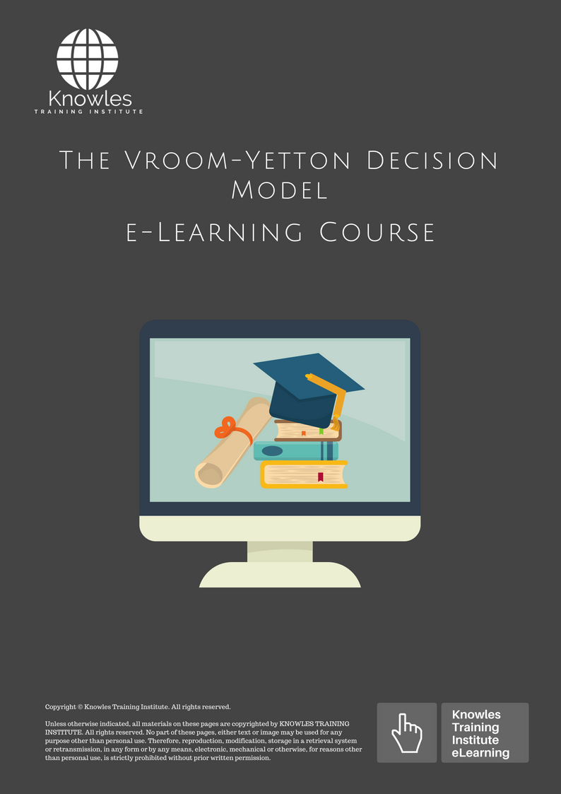 vroom and yetton decision model