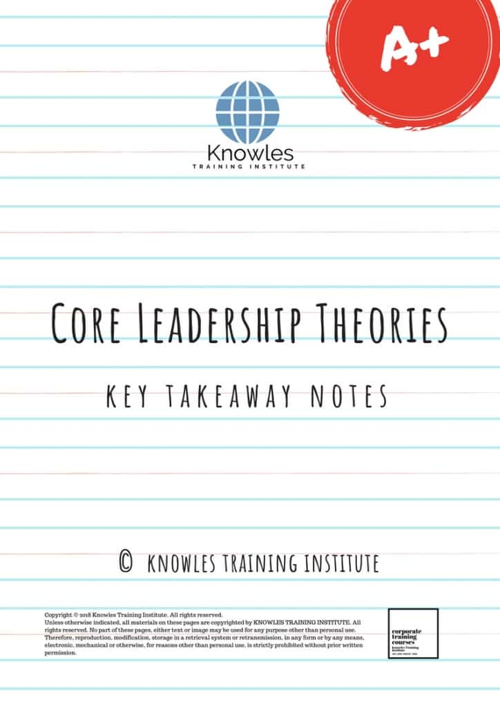 Core Leadership Theories Training Course In Singapore