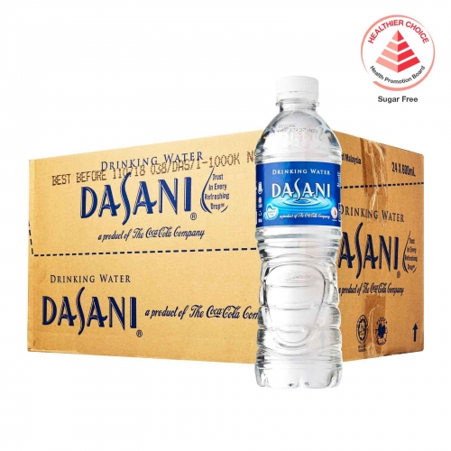 Dasani Drinking water:24x600ml