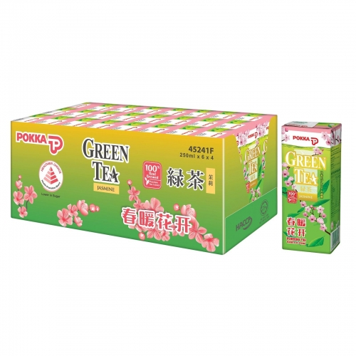 Pokka Jasmine Green Tea Case (24 x 250 ml): $14.97