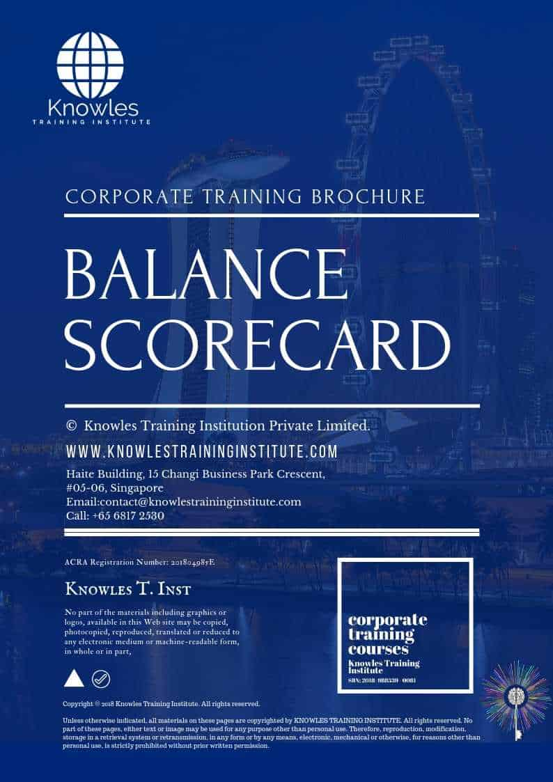 The Balanced Scorecard Brochure