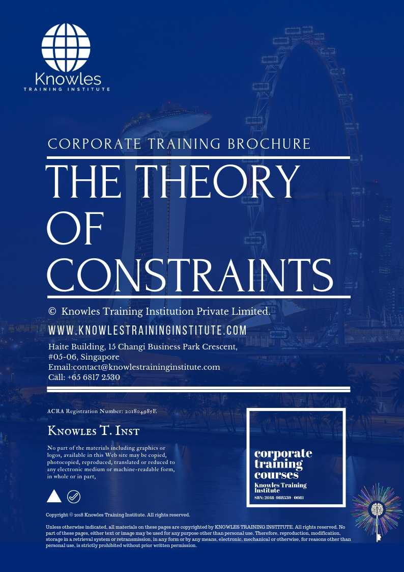 The Theory of Constraints Brochure