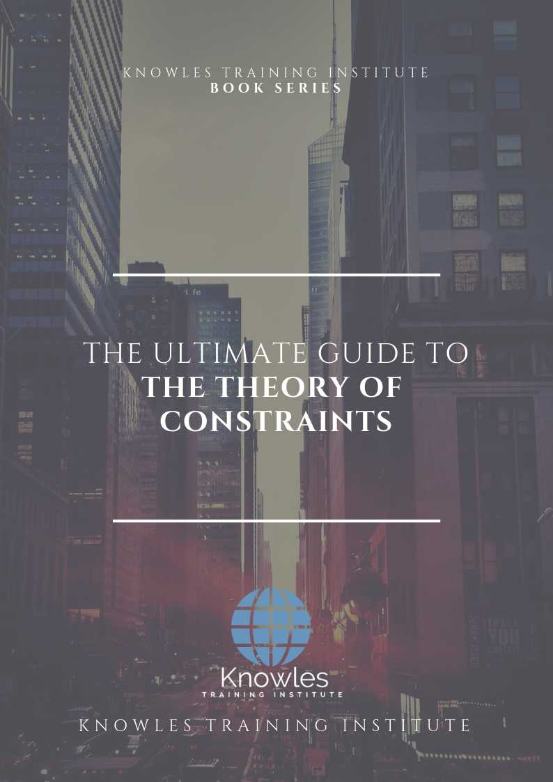 The Theory of Constraints Ebook