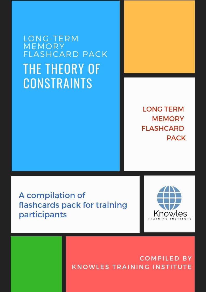 The Theory of Constraints Long-Term Memory Flashcards