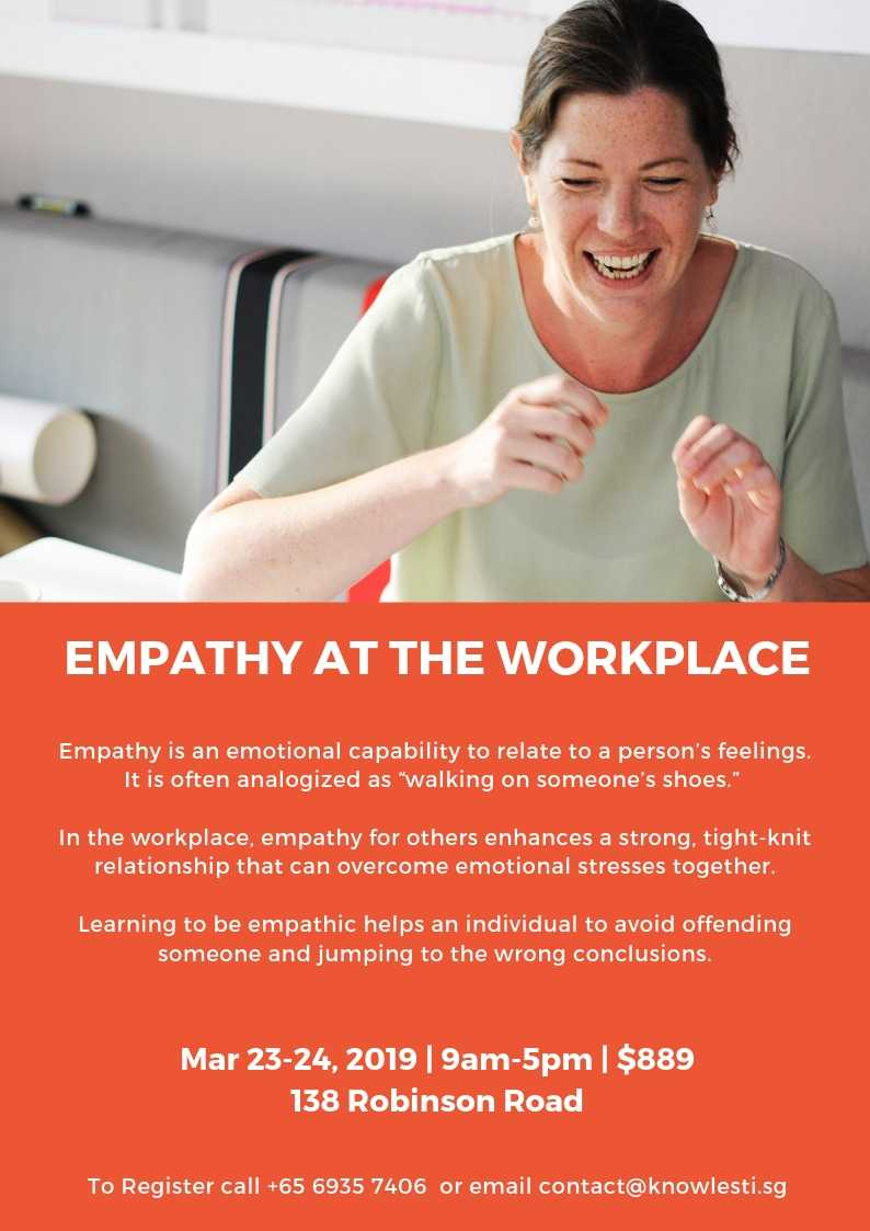 Empathy At Workplace