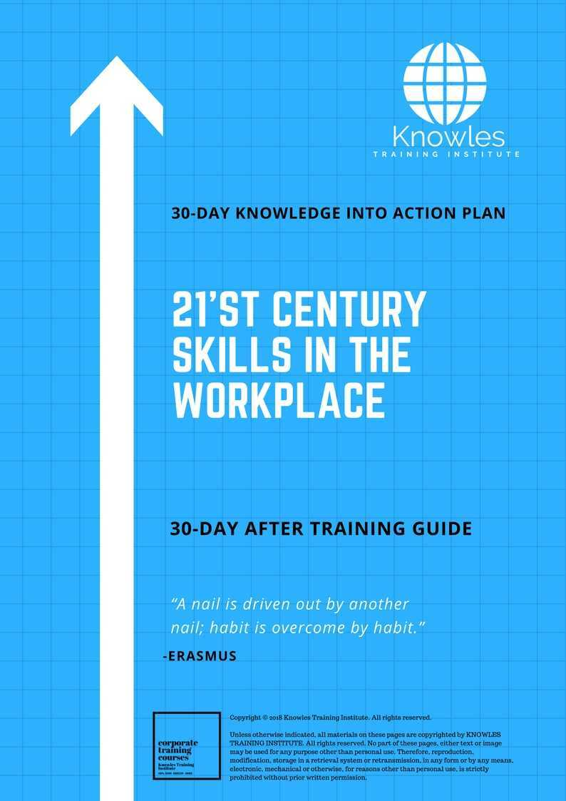 21'st Century Skills In The Workplace