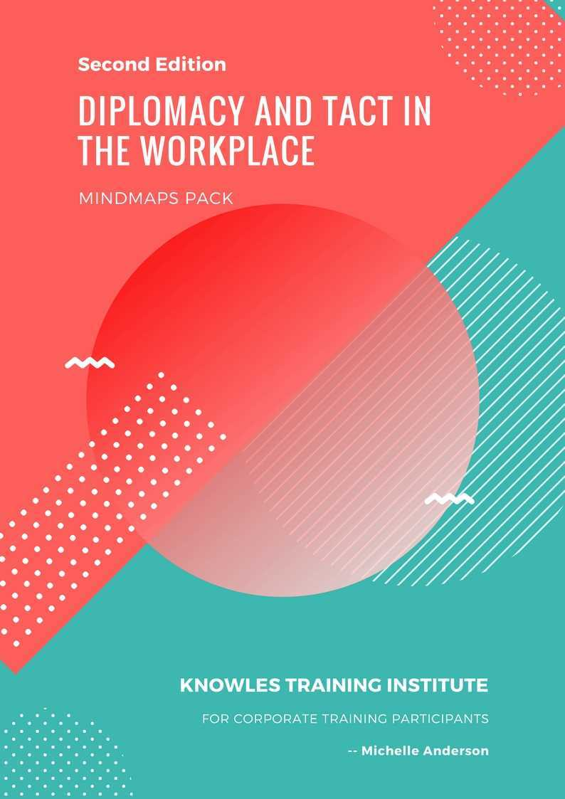 Diplomacy & Tact In The Workplace Course