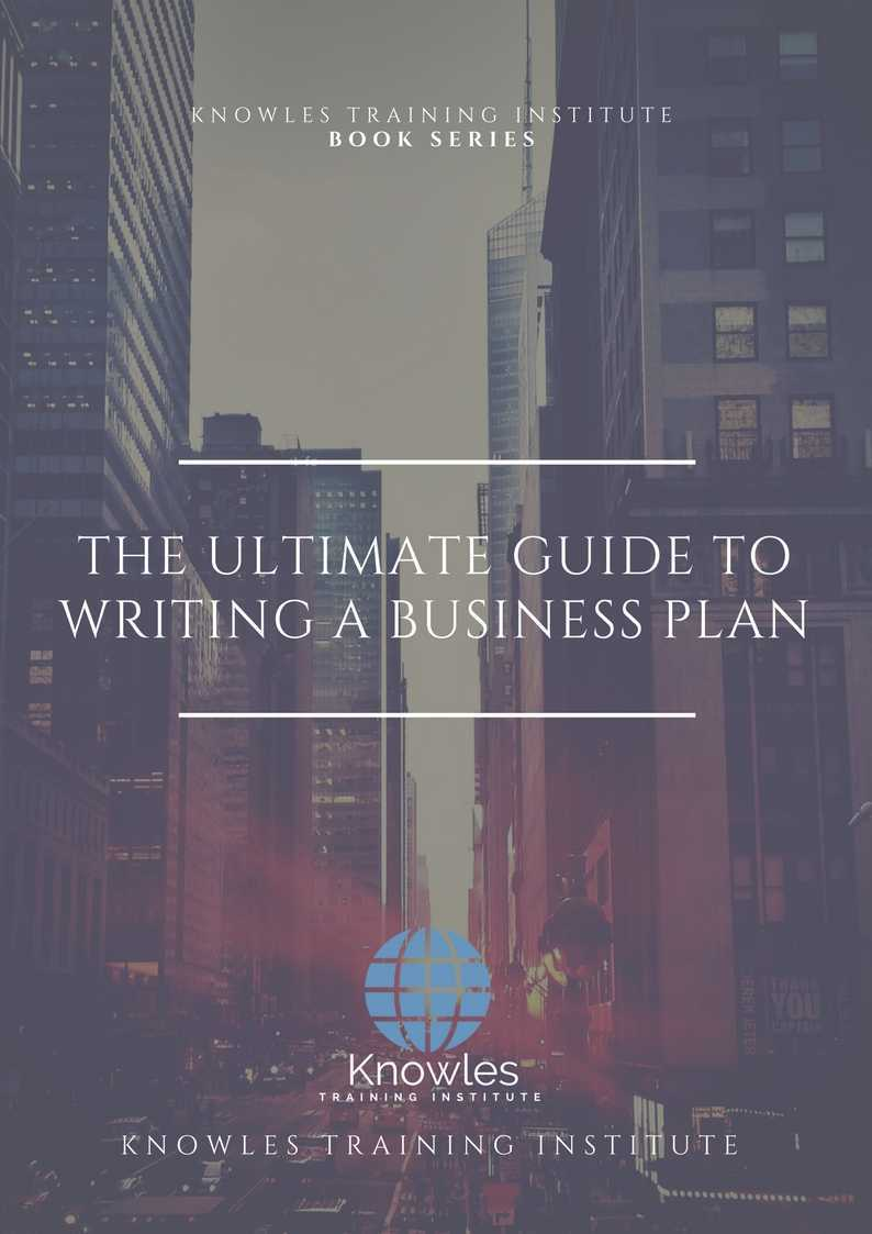 Writing A Business Plan Course