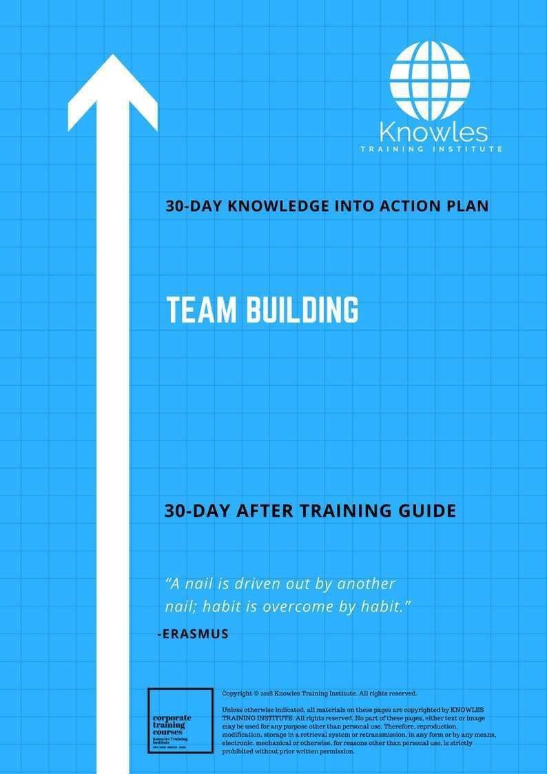 Team Building Training Course