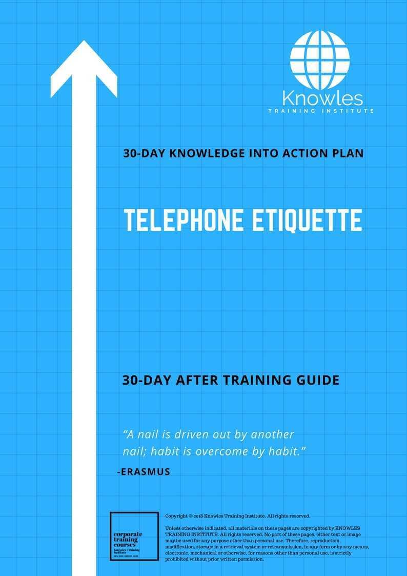 Telephone Etiquette Training Course