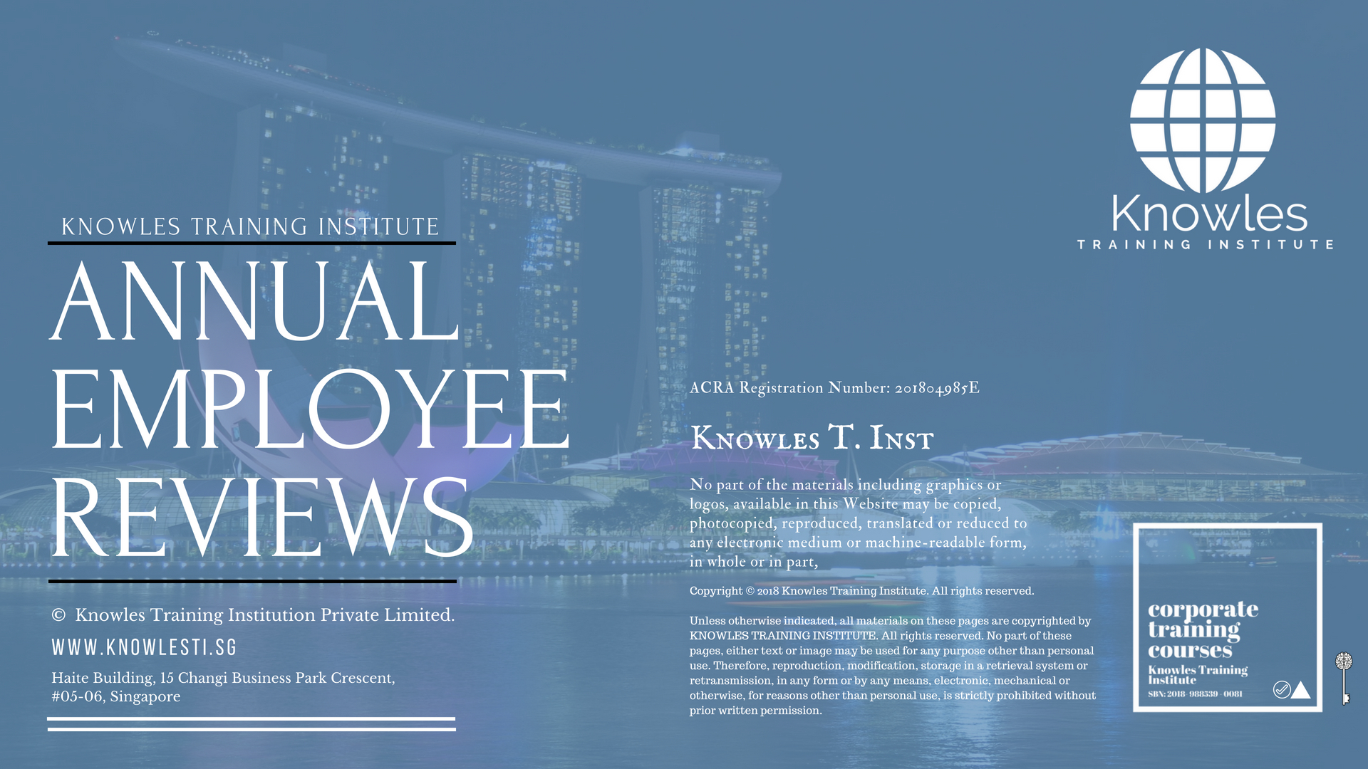 Annual Employee Reviews Course