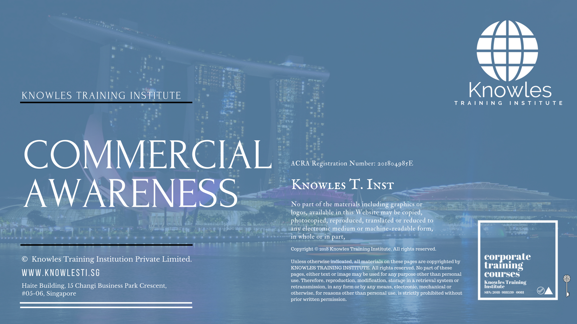Commercial Awareness Training Course