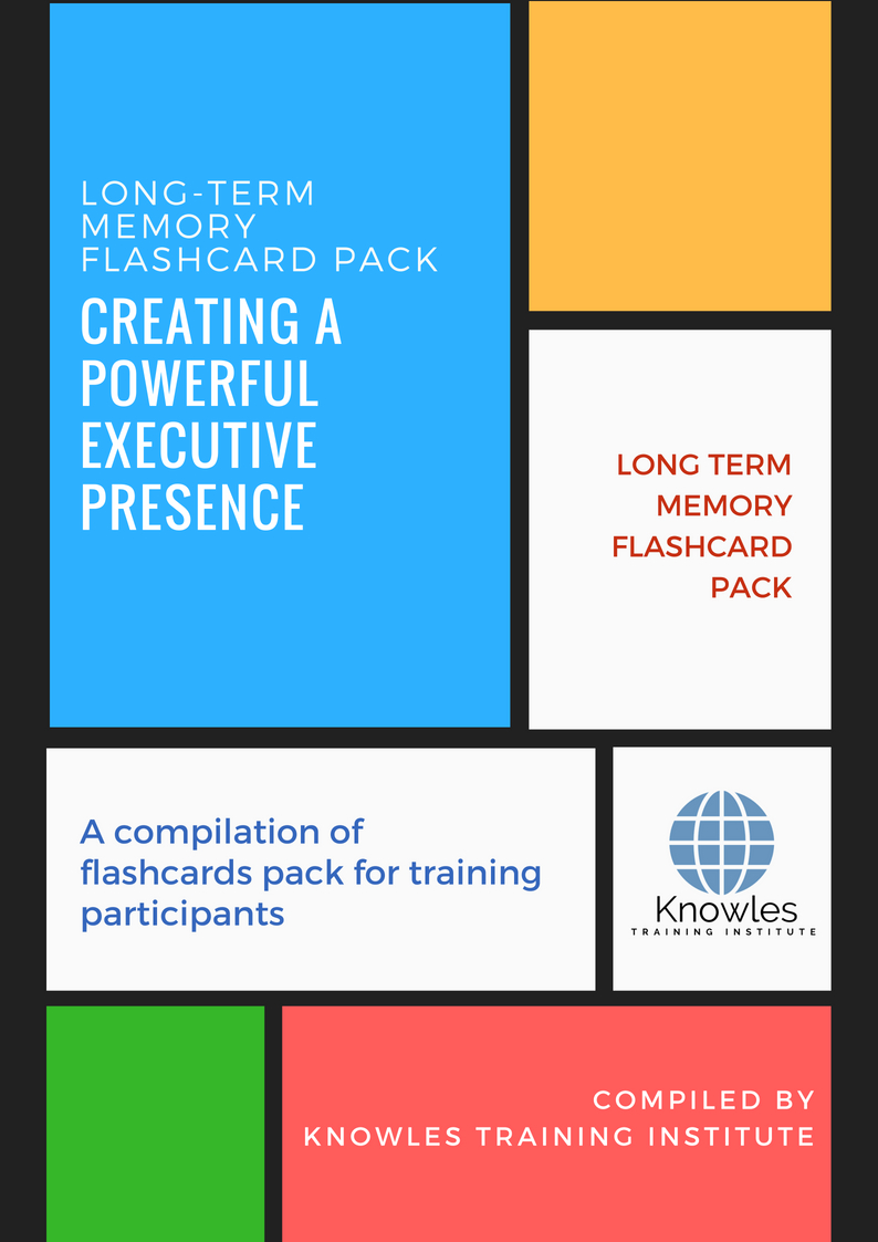 Creating A Powerful Executive Presence Course in Singapore