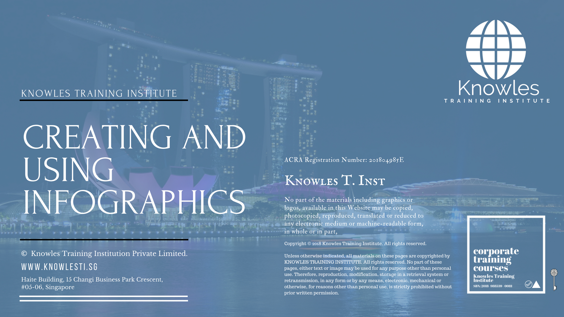 Infographics Training Course