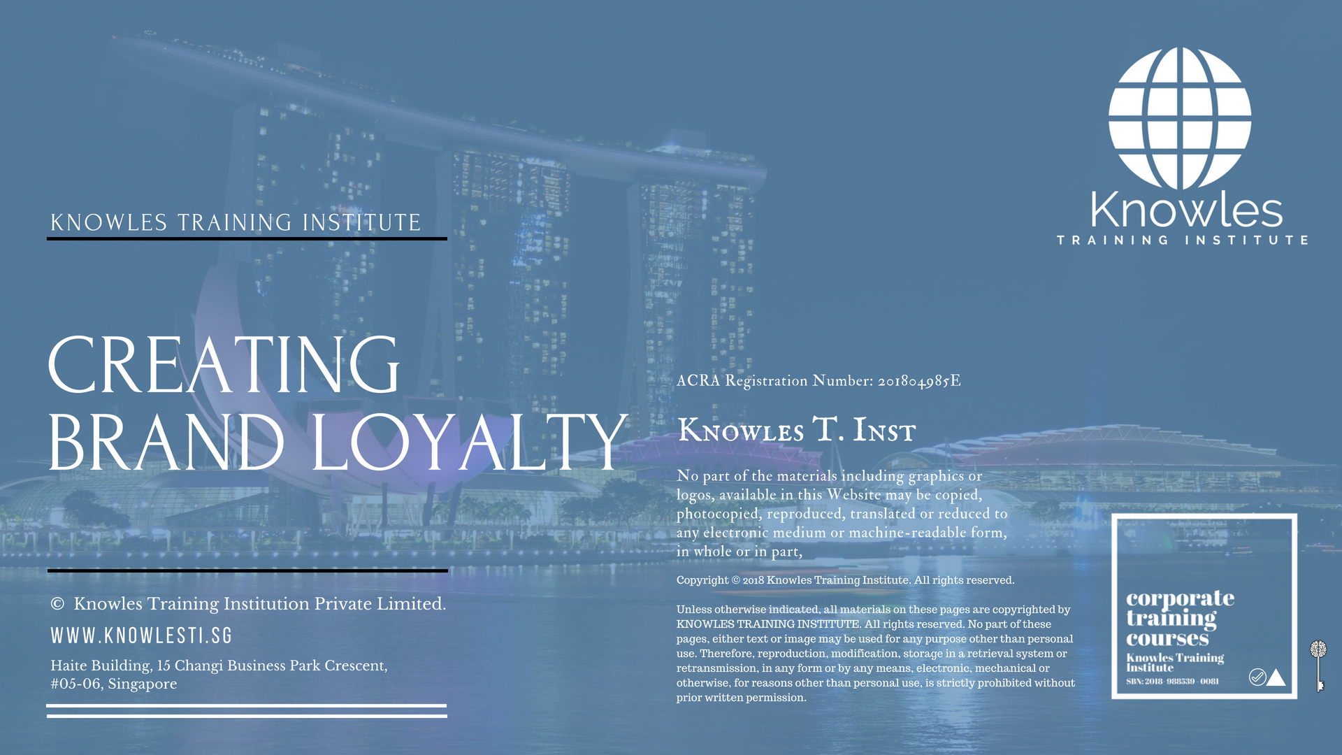 Creating Brand Loyalty Course