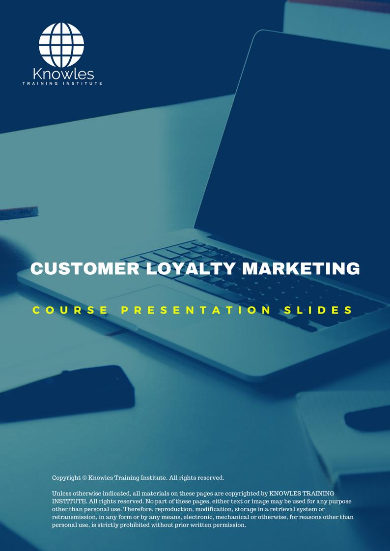 Customer Loyalty Marketing Course
