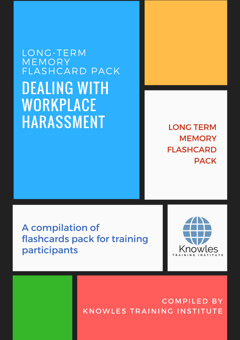 Dealing With Workplace Harassment Course