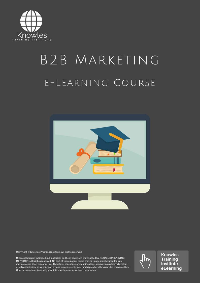 B2B Marketing Training Course