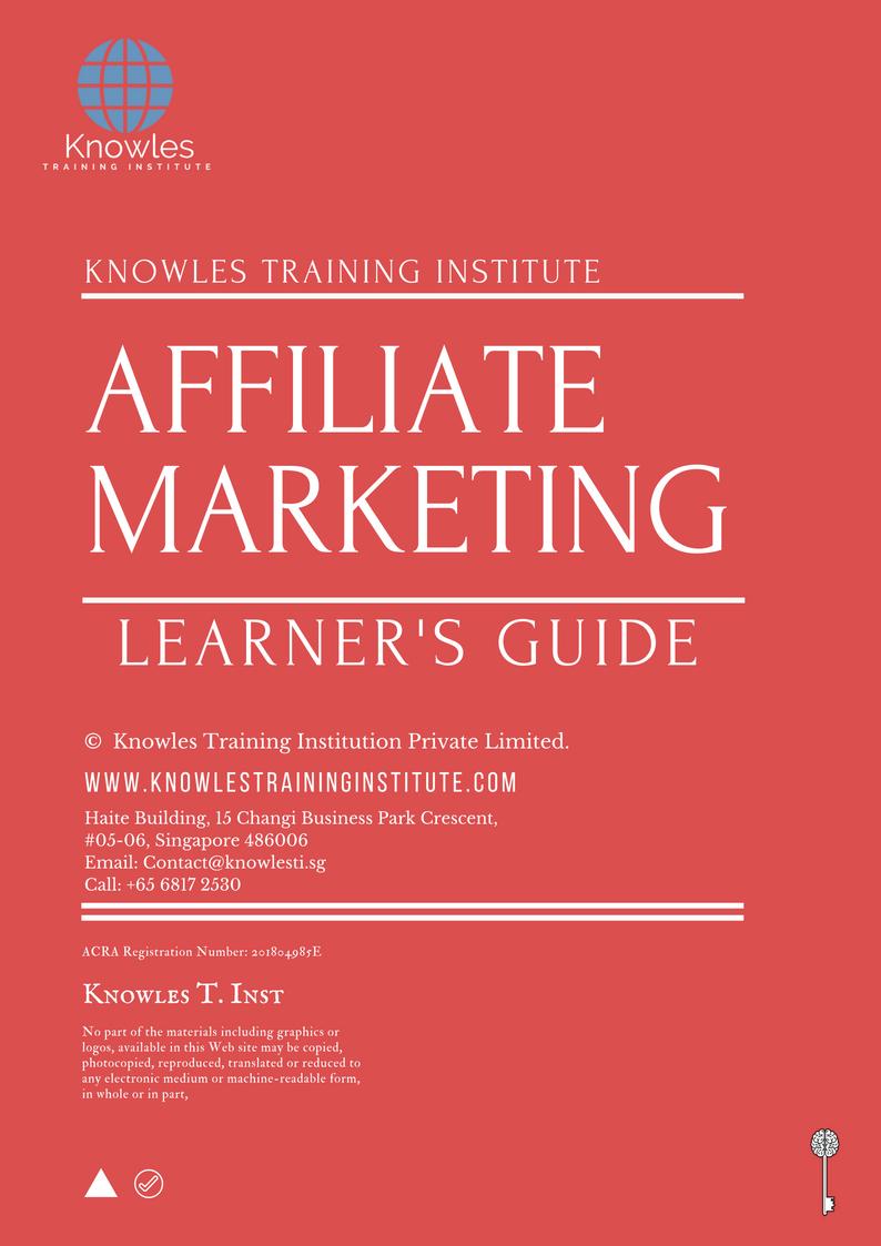 Affiliate Marketing Training Course
