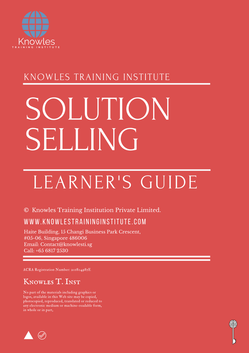 Solution Selling Training Course