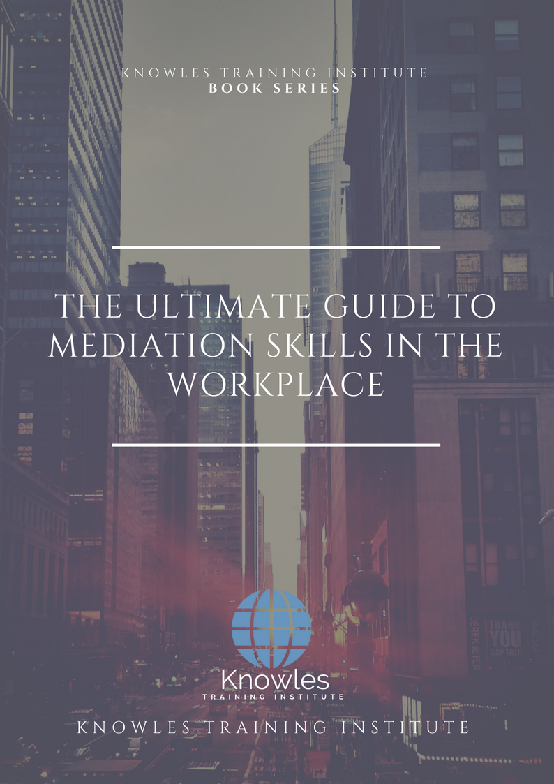 Mediation Skills In The Workplace Course
