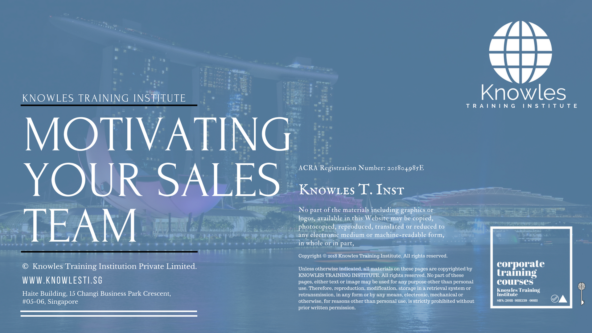 Motivating Your Sales Team Course