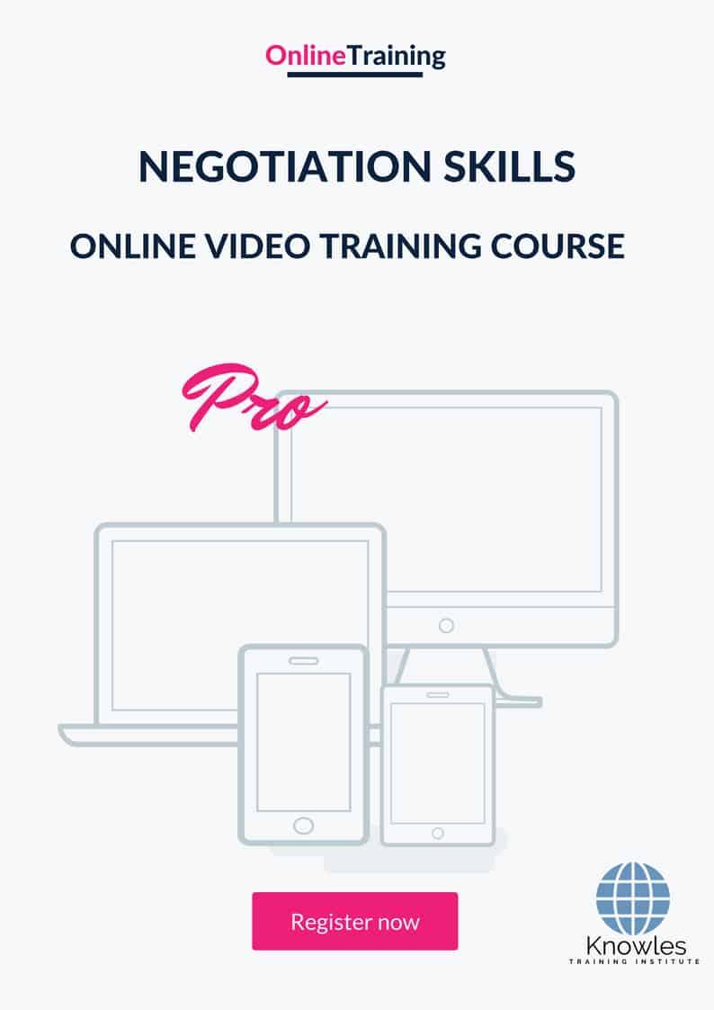 Negotiation Skills Online Video Course