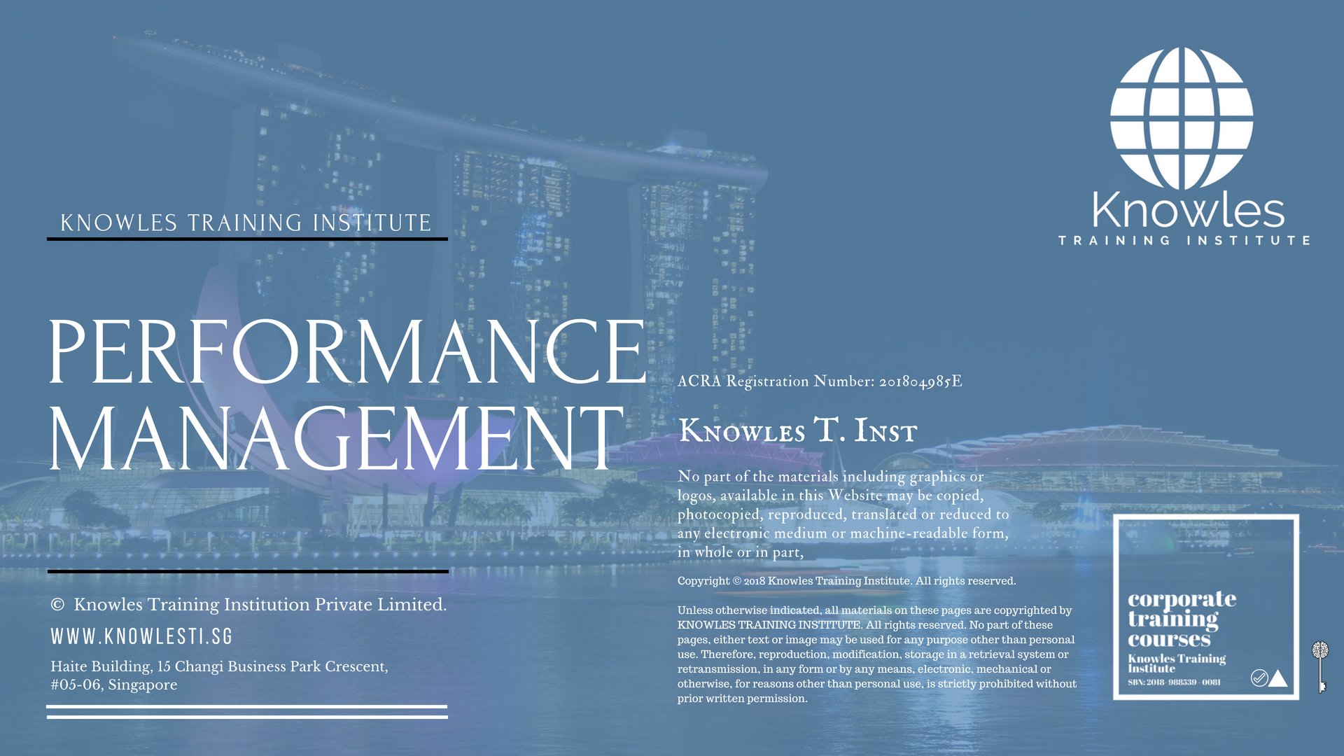 Performance Management Training Course