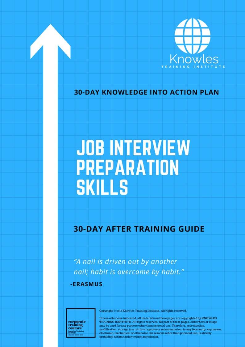 Job Interview Preparation Course