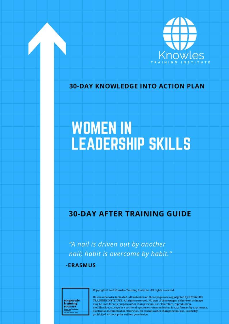 Women In Leadership Training Course