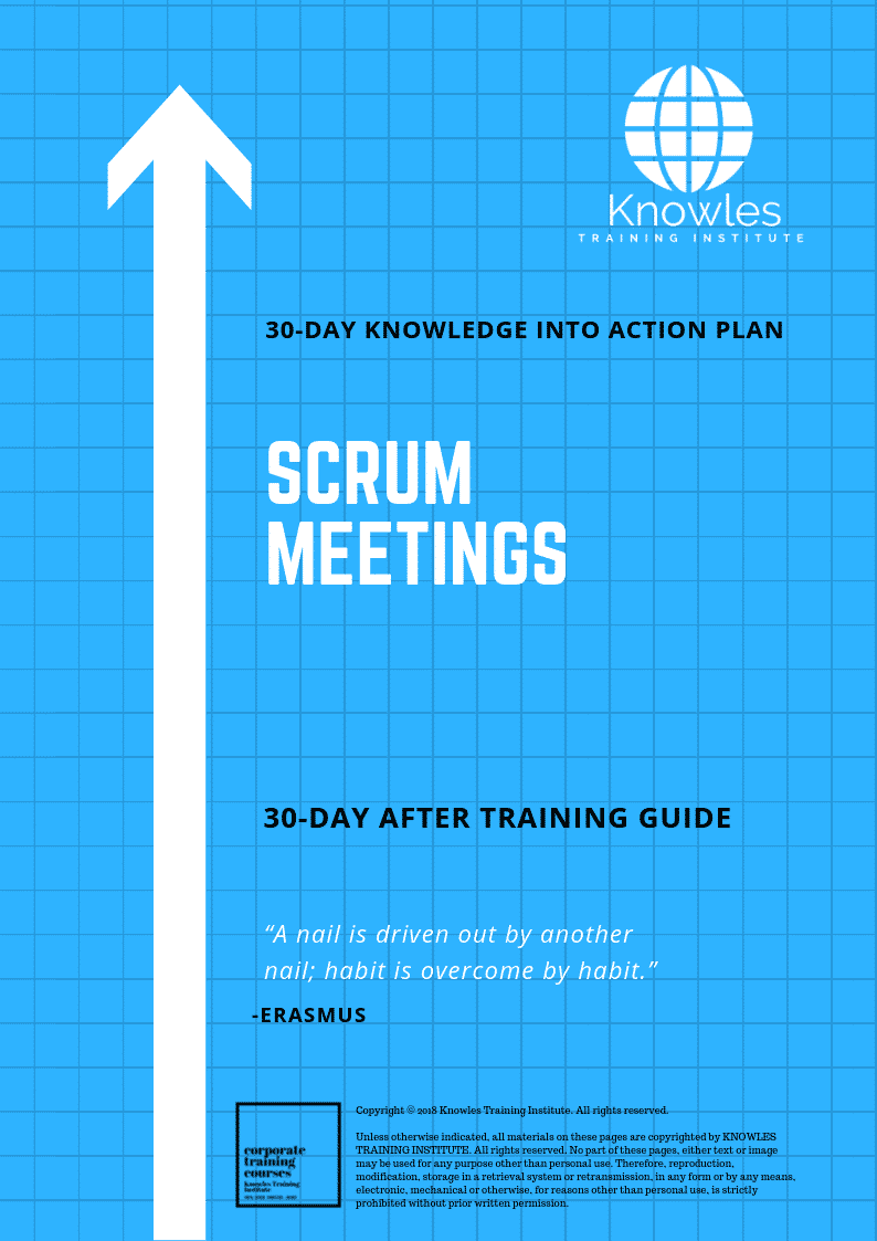 Scrum Meetings Training Course