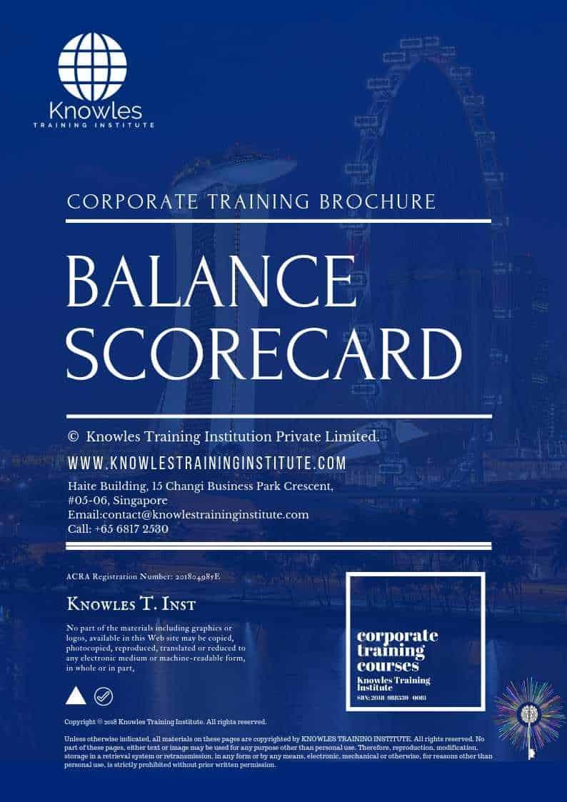 The Balanced Scorecard Brochure