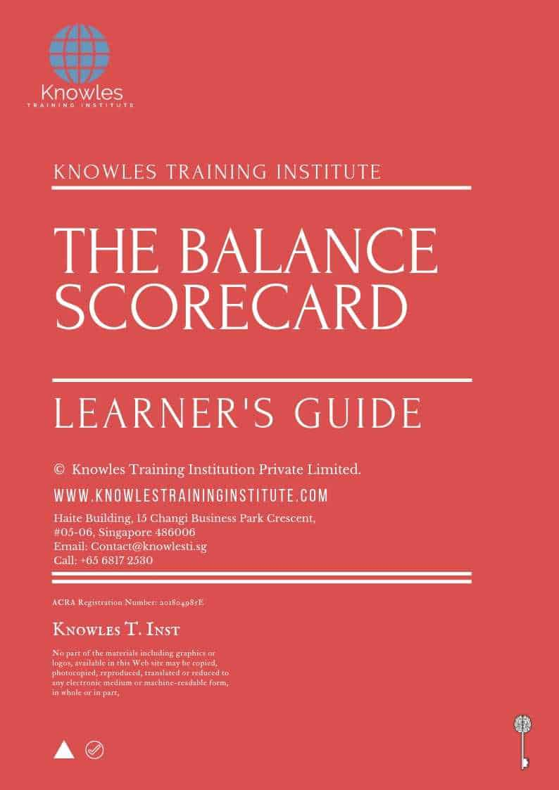 The Balanced Scorecard Learner's Guide