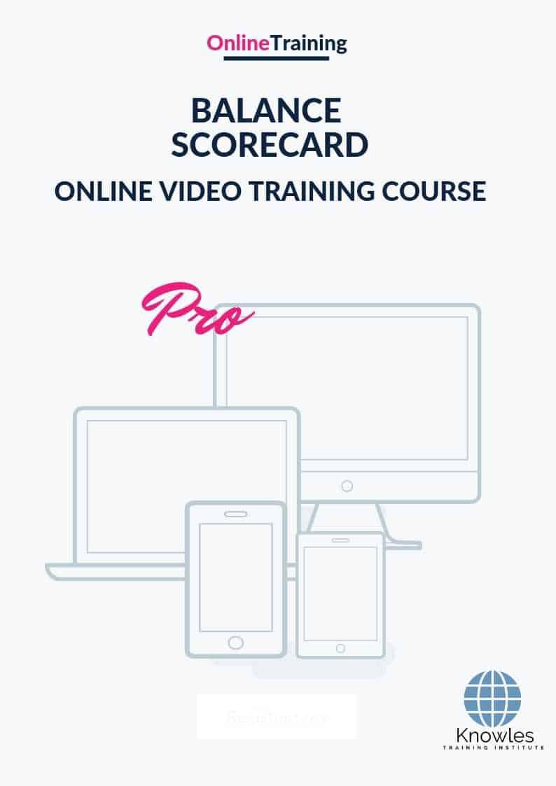 The Balanced Scorecard Online Video Course